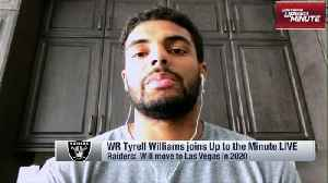 Oakland Raiders wide receiver Tyrell Williams: Antonio Brown and I are going to be 'a problem' for defenses [Video]