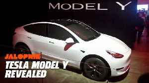 Tesla Model Y Revealed [Video]
