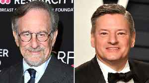 Steven Spielberg, Netflix's Ted Sarandos Look To Be Seeking Common Ground Over Awards Debate | THR News [Video]