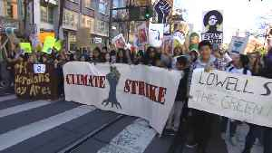 CLIMATE CHANGE PROTEST: Students March In The Street Of San Francisco [Video]