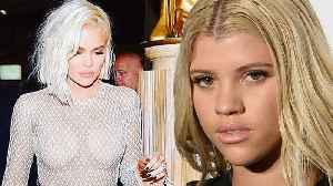 Sofia Richie Wants Scott Disick To Posts Pictures Of HER Instead Of Khloe Kardashian On IG! [Video]