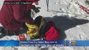 Cross-Country Skier Gets Lost In Ventura Co. Wilderness With Only A Box Of Raisins [Video]