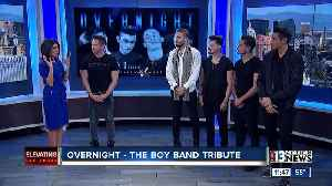 98 Degrees' Jeff Timmons presents Overnnight - The Boy Band Tribute [Video]