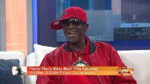 Come To Flavor Flav's Birthday Bash! [Video]