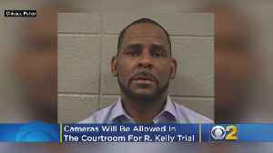 Cameras Allowed In Court For R. Kelly Sexual Abuse Case [Video]