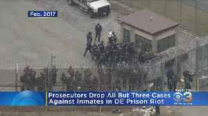 Prosecutors Drop All But 3 Cases Against Inmates In Delaware Prison Riot [Video]