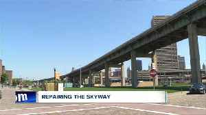 Construction begins again on the skyway [Video]
