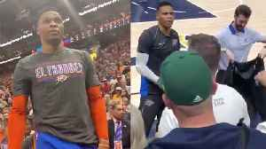 Utah Jazz Give LIFETIME BAN To 2nd Fan For Racist Behavior Against Russell Westbrook! [Video]