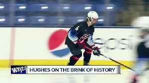 USA Hockey's Jack Hughes on the brink of history [Video]