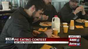 Pie eating contest live shot 2 [Video]