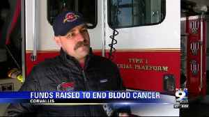 Local firefighters raise thousands to end blood cancer [Video]