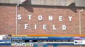 Stoney Field Construction Underway [Video]