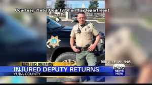 Sheriff's Office welcomes back Deputy after two years [Video]