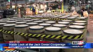 Inside look at the Jack Daniel Cooperage [Video]