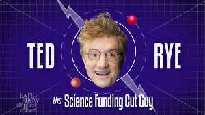 Ted Rye The Science Funding Cut Guy [Video]