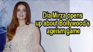 News video: Dia Mirza opens up about Bollywood's ageism game