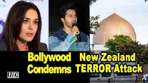 News video: Bollywood Condemns New Zealand TERROR Attack
