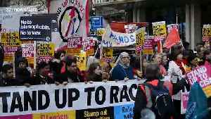 Anti-racism march in London ahead of UN's anti-racism day [Video]