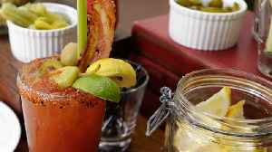 Bourbon and Spicy Condiments Combine For the World's Greatest Bloody Mary [Video]