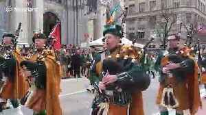 St. Patrick's Day Parade takes over streets of New York City [Video]