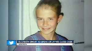 Elizabeth Smart to speak on Jayme Closs in Barron [Video]
