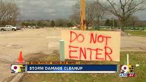 Thursday storms create a weekend of cleaning up [Video]