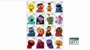 USPS unveils new 'Sesame Street' stamps [Video]
