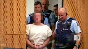 News video: New Zealand shooting suspect appears in court