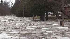 No traffic jams: ICE jams arrive on Canadian roads after spring flooding [Video]