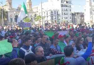 Algerians Rally Against President's Extension of Fourth Term [Video]