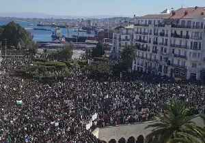 Mass Demonstration in Algiers Against President's Decision to Cancel Election [Video]
