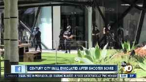 Century City mall evacuated after shooter scare [Video]