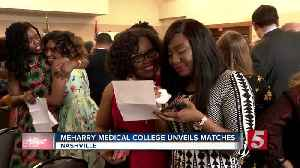 It's Match Day for Meharry Medical College graduates [Video]