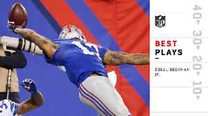 Cleveland Browns wide receiver Odell Beckham Jr.'s best plays with the New York Giants [Video]