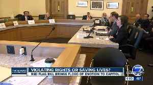 Red Flag bill brings flood of emotion to Colorado State Capitol [Video]