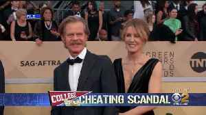 Felicity Huffman, William H. Macy Seen At Federal Courthouse [Video]