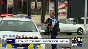 News video: Social media sites working to remove video of New Zealand mosque attack