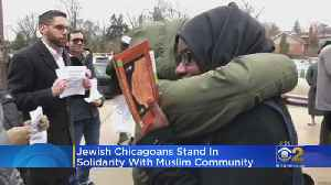 News video: Following New Zealand Terror Attack Jewish Chicagoans Show Support For Local Muslim Community