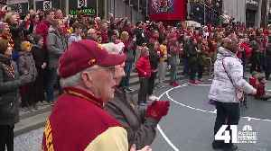 Hilton South? Iowa State fans make their presence known in KC [Video]