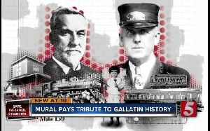 New murals pay tribute to Gallatin history [Video]