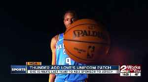 OKC Thunder secure uniform patch sponsorship with Love's Travel Stop & Country Stores [Video]
