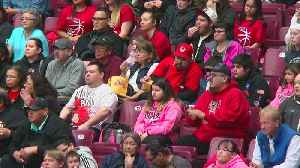 'Our Pride And Joy': Red Lake Fans Travel Hours To Cheer Team At State B-Ball Tourney [Video]