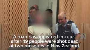 Suspect appears in court over New Zealand mosque shootings [Video]
