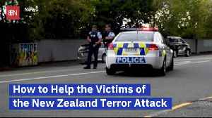 News video: What You Can Do To Help Victims Of NZ Terror Attack