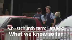 New Zealand mosque attacks: What we know so far [Video]