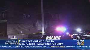 Man Shot In Face Outside New Castle Bar [Video]