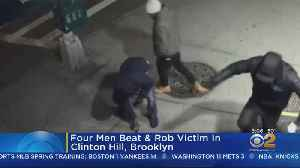 Group Of Men Attack, Rob Victim In Brooklyn [Video]