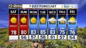 Warmer weekend temps in the Valley! [Video]