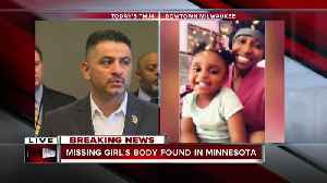 Body found in Minnesota matches missing 2-year-old girl [Video]