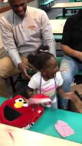 Little Girl Freaks Out Over Shoes With Favorite Puppet Character [Video]